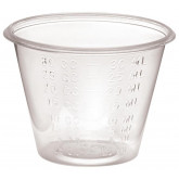 MEDLINE Non-Sterile Graduated Plastic Medicine Cups,1 5000 EA / CS