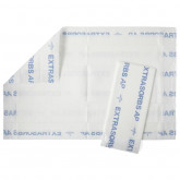 "MEDLINE Extrasorbs Air Permeable Drypad Underpads,White,36"" X 23"" 70 EA / CS"