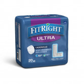 MEDLINE FitRight Ultra Protective Underwear,Large 20 EA / BG