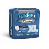 MEDLINE FitRight Super Protective Underwear,X-Large 20 EA / BG
