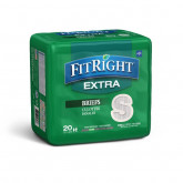 "MEDLINE FitRight Extra Incontinence Briefs,20""-32"" 80 EA / CS"