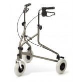 MEDLINE Tri-Wheeled Rollators,Titanium 1 EA / EA
