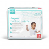 MEDLINE Medline Disposable Baby Diapers,White,Sizes 1 - 6, Preemie - 35+ lbs 200 Each / Case