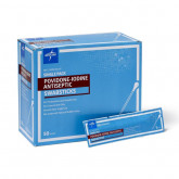 MEDLINE Povidone-Iodine PVP Swabsticks 50 EA / BX