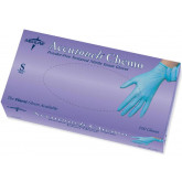 MEDLINE Accutouch Chemo Nitrile Exam Gloves,Blue,Small 100 EA / BX