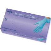 MEDLINE Accutouch Chemo Nitrile Exam Gloves,Blue,Medium 100 EA / BX