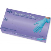 MEDLINE Accutouch Chemo Nitrile Exam Gloves,Blue,X-Large 100 EA / BX