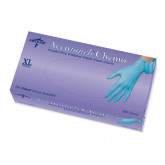 MEDLINE Accutouch Chemo Nitrile Exam Gloves,Blue,X-Large 1000 EA / CS