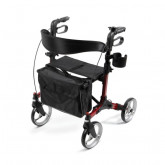 "MEDLINE Simplicity Rollator,Red,8"" 1 EA / EA"