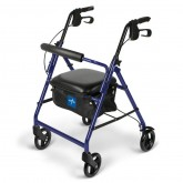 "MEDLINE Basic Rollators,Blue,6"" 1 EA / EA"