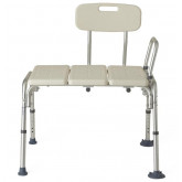 MEDLINE Transfer Bench with Back 1 EA / EA