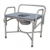 MEDLINE Bariatric Drop-Arm Commode 1 Each / Case