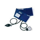 MEDLINE PVC Handheld Aneroid,Black,Large/Adult 1 Each / Each