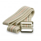 MEDLINE Washable Cotton Material Gait Belts,Beige with Stripes 1 EA / EA