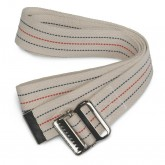 MEDLINE Washable Cotton Material Gait Belts,Red, White & Blue Stripes 6 EA / CS