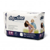 MEDLINE DryTime Disposable Protective Youth Underwear,Small / Medium 15 EA / BG