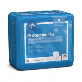 MEDLINE Protection Plus Superabsorbent Adult Underwear,Medium 20 EA / BG