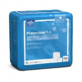 MEDLINE Protection Plus Superabsorbent Adult Underwear,2X-Large 48 EA / CS