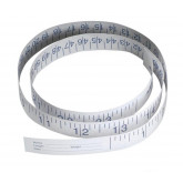 MEDLINE Paper Measuring Tapes,72.00 IN 500 Each / Case
