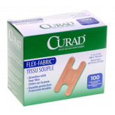 MEDLINE CURAD Fabric Adhesive Bandages,Natural,No 100 EA / BX