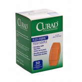 MEDLINE CURAD Fabric Adhesive Bandages,Natural,No 50 EA / BX