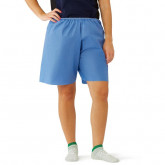 MEDLINE Disposable Exam Shorts,Blue,Large 30 EA / CS