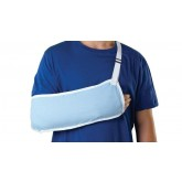 MEDLINE Standard Arm Slings,Light Blue,Large 1 EA / EA