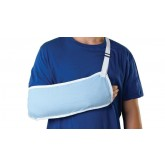 MEDLINE Standard Arm Slings,Light Blue,Small 1 EA / EA