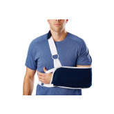 MEDLINE Sling-Style Shoulder Immobilizer with Neck Pad,Small 1 EA / EA