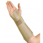 MEDLINE Vinyl Wrist and Forearm Splints,Small 1 EA / EA
