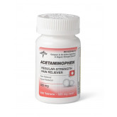 MEDLINE Acetaminophen Regular Strength Tablets 1 EA / EA