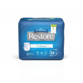 MEDLINE FitRight Restore Protective Underwear,Small / Medium 80 EA / CS