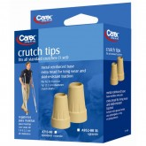Compass Health Carex Crutch Tips X-Large Case of 6 Pr
