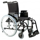 """Drive Medical Cougar Ultra Lightweight Rehab Wheelchair, Swing away Footrests, 18"""" Seat"""