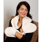 Compass Health Bed Buddy Naturals Plush Neck & Hand Wrap