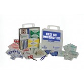 Complete Medical First Aid Kit  50 Person in a Poly Case