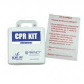 Blue Jay An Elite Healthcare Brand First Aid Kit - CPR Restaurant w/Poster