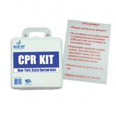 Complete Medical First Aid Kit - CPR Restaurant (New York State) w/Poster