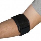 Blue Jay An Elite Healthcare Brand Blue Jay Tennis Elbow Strap Universal  Black