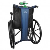 Blue Jay An Elite Healthcare Brand Wheelchair Oxygen Cylinder Bag  Navy