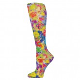 Blue Jay An Elite Healthcare Brand Blue Jay Fashion Socks (pr) Bouquet 8-15mmHg