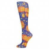 Blue Jay An Elite Healthcare Brand Blue Jay Fashion Socks (pr) Mystical Pumpkin 8-15mmHg