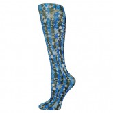 Blue Jay An Elite Healthcare Brand Blue Jay Fashion Socks (pr) Happy Hanukkah 15-20mmHg