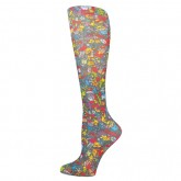 Blue Jay An Elite Healthcare Brand Blue Jay Fashion Socks (pr) Christmas Celbration 15-20mmHg
