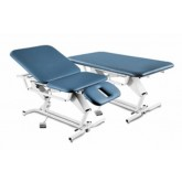 DJO / GLOBAL - Chatt Treatment Table Hi-Lo 25 x75  3-Sect  w/Footswitch & Casters
