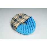 Hermell Products Inc. Convoluted Foam Softeze Ring 16.25  x 14 1/8   Plaid Cover