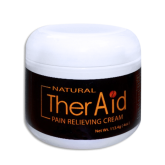Therasage TherAid Pain Cream 4oz/Regular