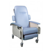 Drive Medical Clinical Care Geri Chair Recliner, Blue Ridge