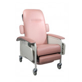 Drive Medical Clinical Care Geri Chair Recliner, Rosewood