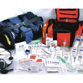 Ever Ready First Aid & Med First Responder Kit Orange Nylon w/ Contents